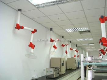 Haube Arm Haube Wand Montiert Labor Armaturen 3 Gemeinsame Dunstabzugs
