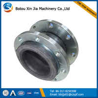 Flexible Rubber Reinforced Bellows Expansion Joint