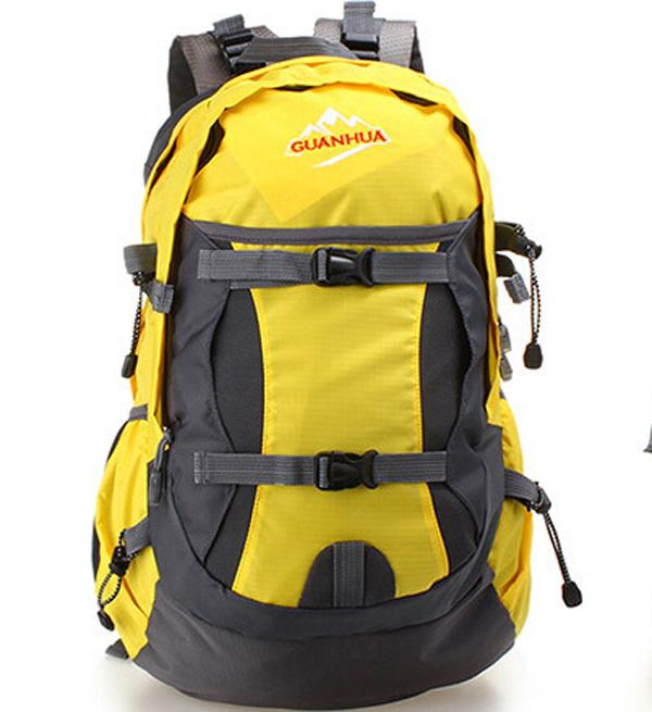 Fashion Yellow Nylon Camel Mountain Backpack Buy Camel