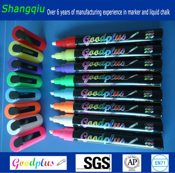 liquid chalk markers reversible tip professional chalkboard paint pen 8 pack bright neon ink