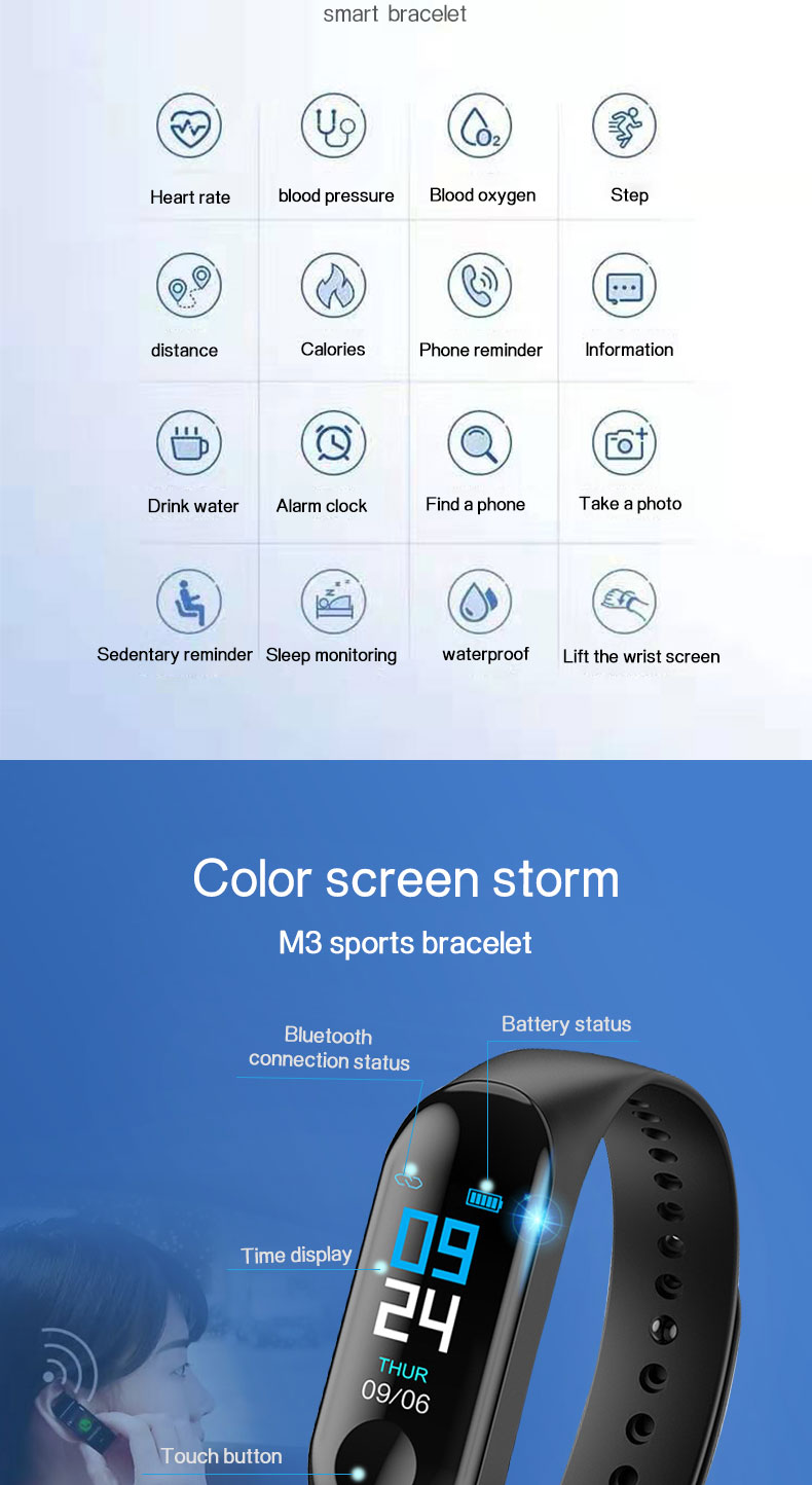 Best Smart Watch Manufacturer Wear Os Android Sport Bracelet Wristband Bluetooth Body Temperature Fit Bit Army Smart Watch