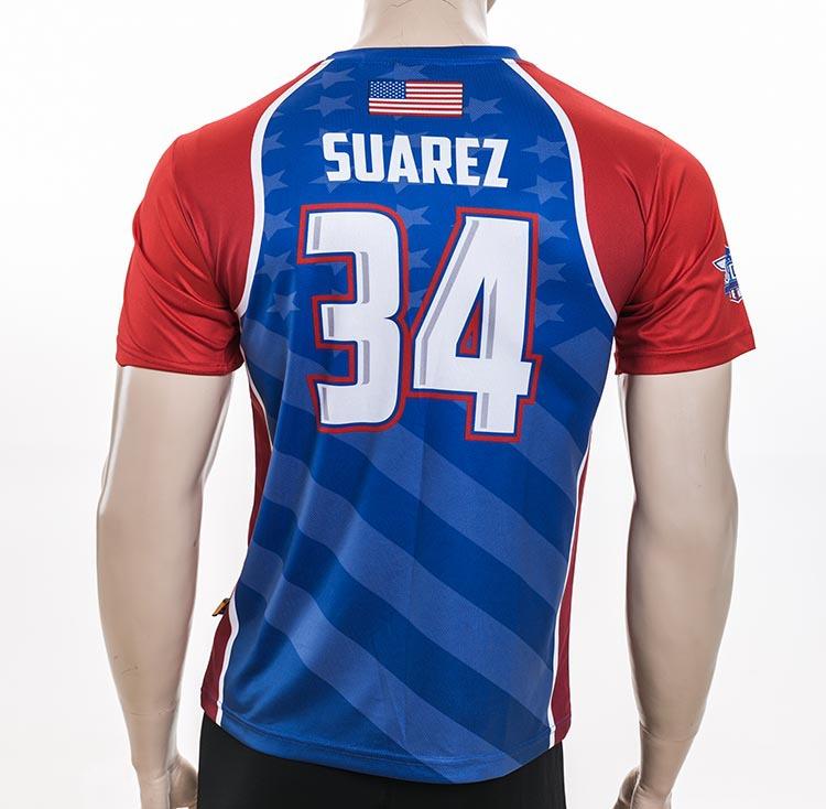 Custom sublimation printing football team club usa t shirt for T shirt printing usa