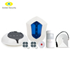 Amazon voice control Alexa security alarm system,WiFi/GSM home security CID central monitoring security alarm system