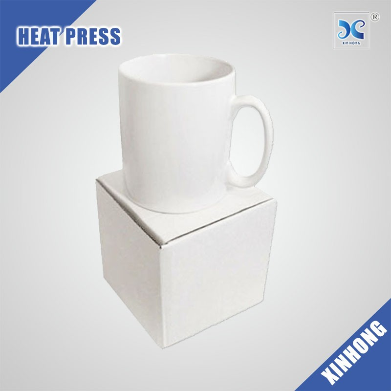 Wholesale Easy To Custom Design Sublimation Blank White Ceramica Mug