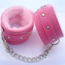 Sex products plush bowl handcuffs novelty toy passion supplies adult toy