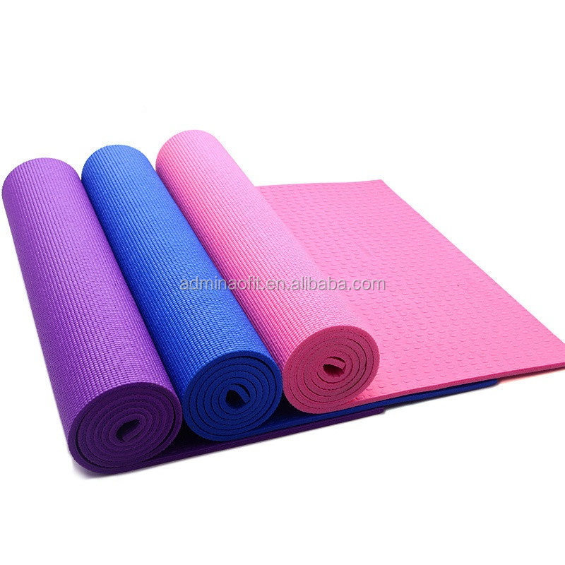 4mm TPE <strong>eco</strong> friendly anti slip yoga mat with carry strap