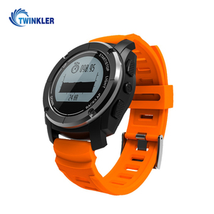 S928 Real-time Heart Rate Tracker Smart Watch Bluetooth 4.0 GPS Sport Smartwatch Pedometer Sedentary Remind Sleep Monitor