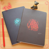 China supplier newest stationery products list ,Logo print recycled all kinds of a4 size paper notebook for office using