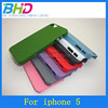 Quicksand hard phone case for iphone 5c protective function