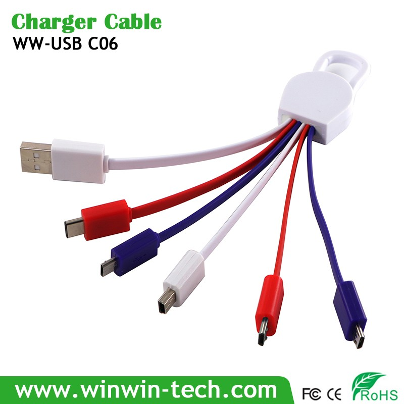 WinBridge type c 2 in 1 usb cable for iphone for games for samsung