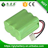 NIMH AA 7.2V 1500mAh Rechargeable Battery Pack For Vacuum Cleaner