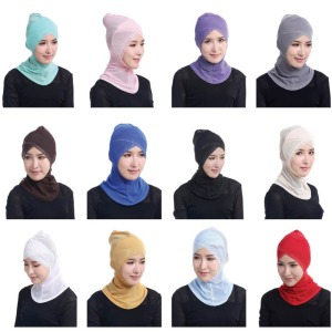 Wholesale lower price fashion instant shawl inner hijab manufacture muslim dubai hijab in stock