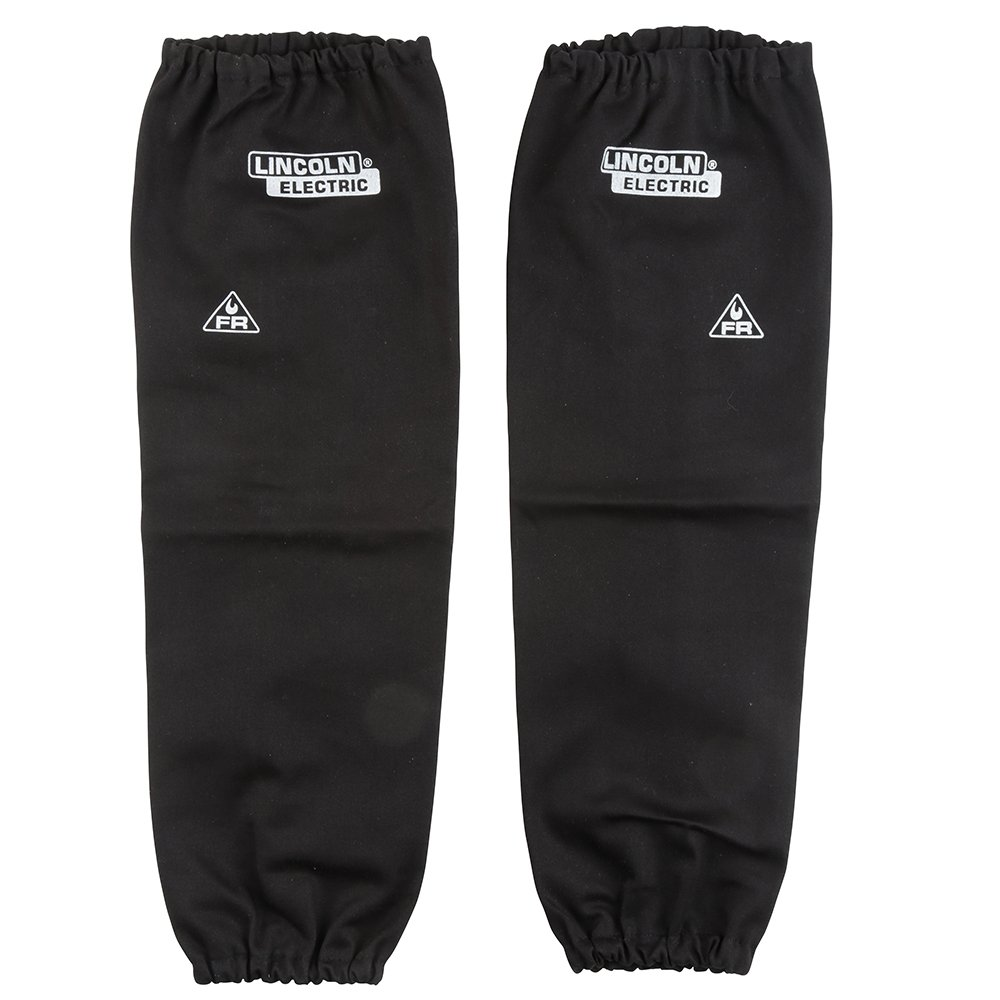 68cd62d6fd5 Get Quotations · Lincoln Electric Black One Size Flame-Resistant Welding  Sleeves