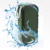 Innovative Product 2017 New Bass Sounds waterproof NFC Portable Wireless Bluetooth Speaker With Microphone