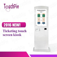 32 inch floor stand bill acceptor kiosk self payment kiosk with touch screen