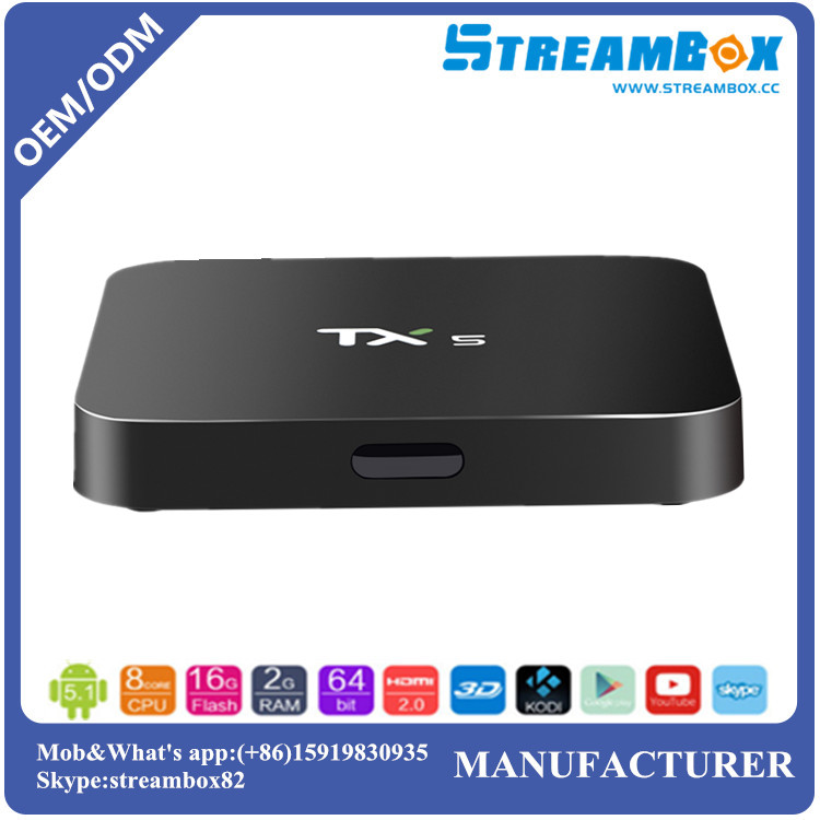 Free shipping TX5 S905x 2G+8GB Internet IPTV WiFi Digital <strong>Media</strong> Smart Android OTT TV <strong>Set</strong> <strong>top</strong> <strong>box</strong>