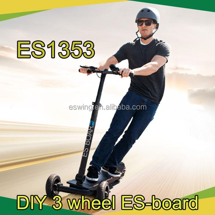 2016 ESWING factory update balance wheel 48V electric bike three wheel folding electric scooter