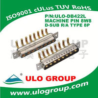 D-Sub Connector male and female,2 Row to wire DIP Type 9 15 25 37 50 pin
