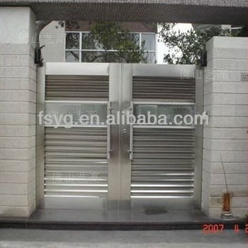 Modern Outdoor Simple Steel Gate Design Buy Mile Steel