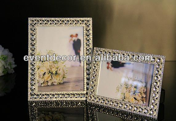 Beautiful wedding photo picture frame ,love photo frame, crystal photo frame 2078