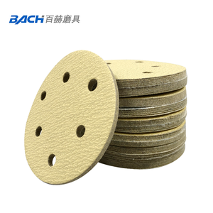 Aluminum material and abrasive sanding disc polishing usage