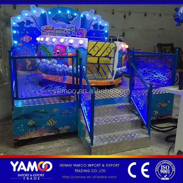 Crazy shopping mall amusement park rides musical kids mini tagada for sale