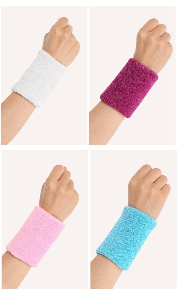 Custom Unisex Cotton Tennis Towel Terry Wrist Band