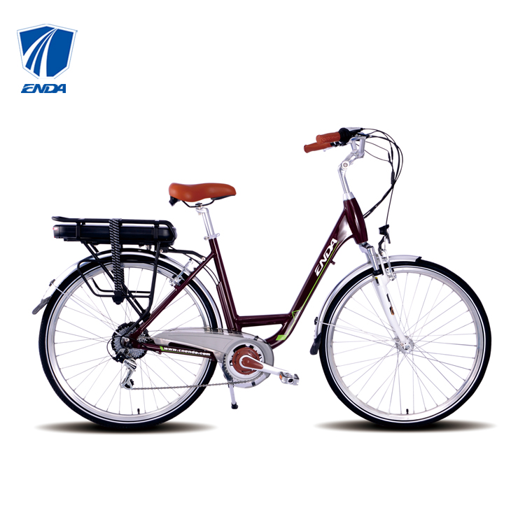TDB28S006 ENDA China Taizhou E-Clasic City Bike 36V 13AH V Brake 250W Electric bicycle