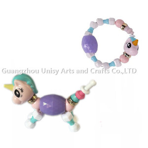 Hot toy Twisty DIY Pet Creative Children's Magical Bracelet Animal Transformable Bracelet