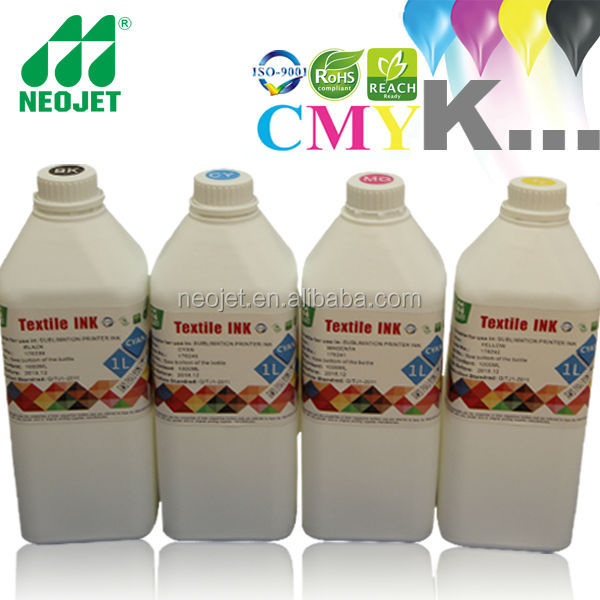 ISO9001certification!!! Industry Direct selling reactive dye ink for digital textile printing