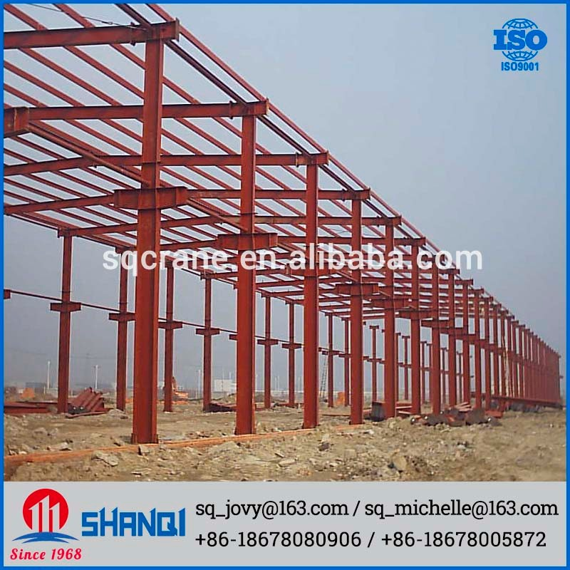 OEM Service Prefabricated Building Steel Structure