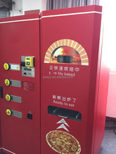 Customized Happy pizza vending machine with online control and manage system