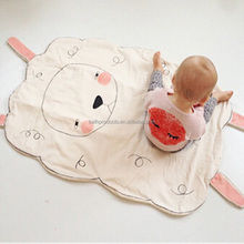 sheep gym children's cover indoor soft cute baby play mat