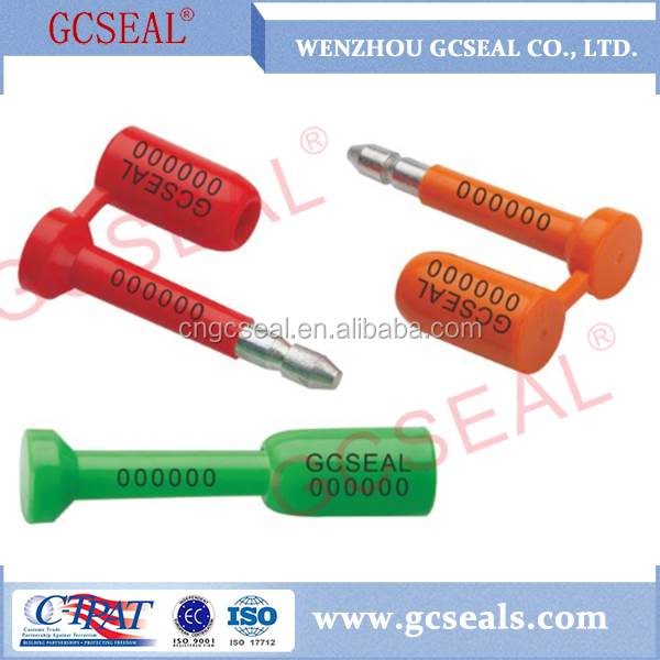 GC-B001 Laser engraving One-Off Bolt Seals