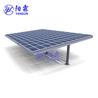 Hot Sale PV Mounting Systems for Solar Carport/Car Parking Mounting Brackets Structure