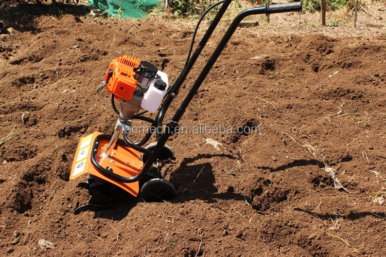 Manual Hand Operation Small Tractor Garden Power Tillers With