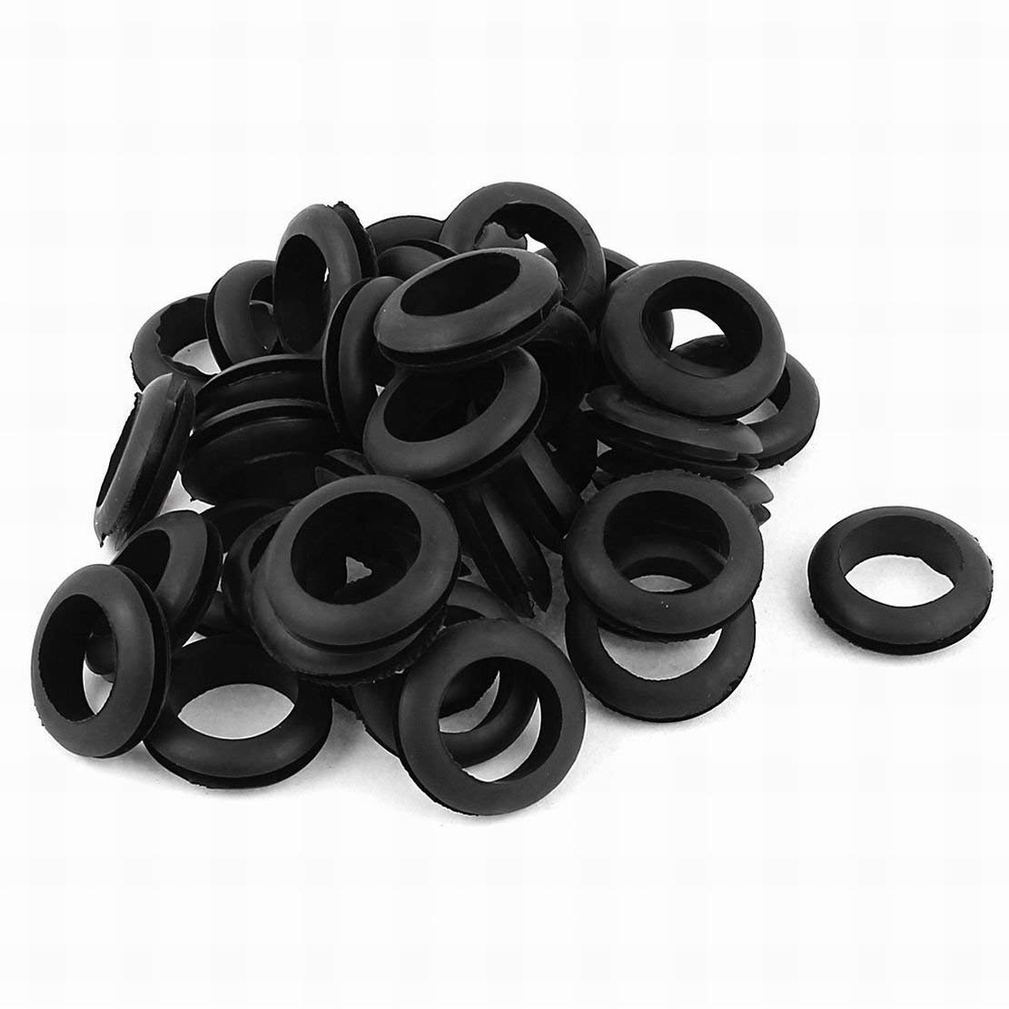 Cheap Ppap Wiring Rubber Grommet Find Grommets Get Quotations Houseuse Electrical Gasket 18mm Cable Hole Dia 40pcs