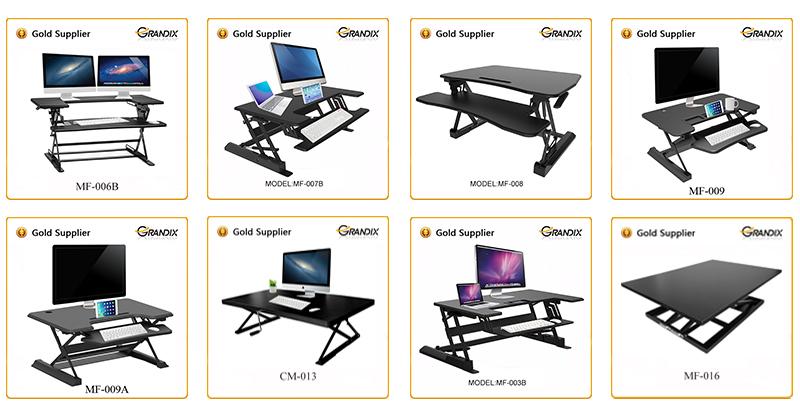 Fantastisch Steh Schreibtische Konverter, Folding Einstellbare Große Laptop Computer  Tisch Steh Schreibtisch Für Monitor Und Imac