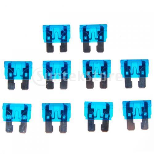 Бесплатная доставка 10 x 15A 32 В синий среднего размера предохранители блейд автомобилей