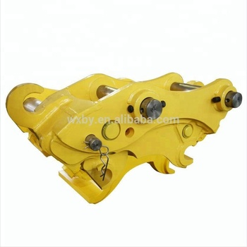 excavator quick hitch supplier beiyi machinery produce excavator quick couplers and excavator quick hitch for sale