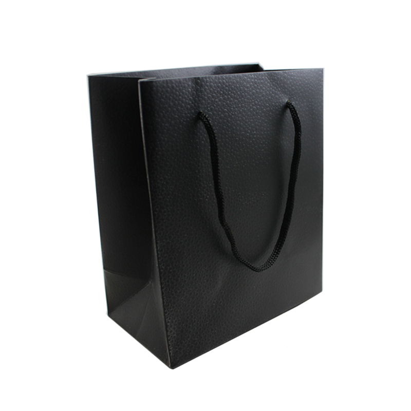 11398302f51 New Arrivals Small Black Color 15.5 12 7cm Packaging Bag   Hand Length  Handle