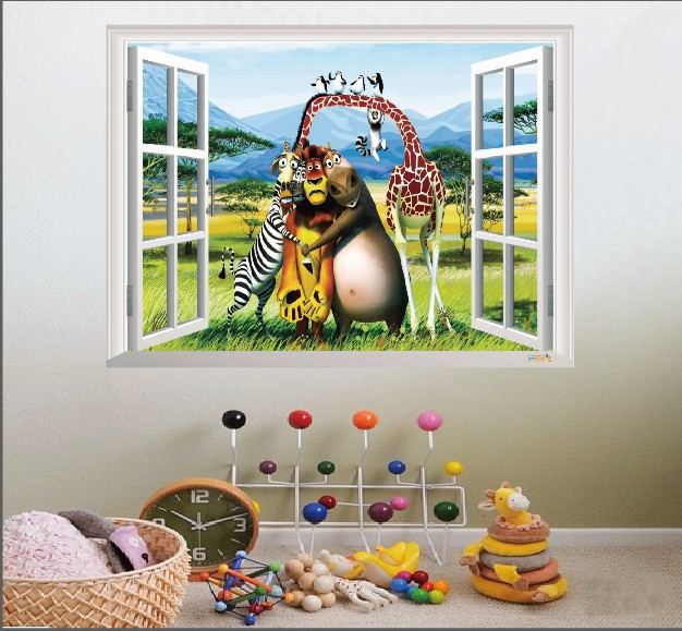 Madagascar Wall Stickers Reviews Online Shopping