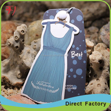 Manufacture custom printing hang tags T-shirt labels and fashion style tags