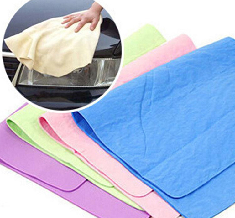 cheap China pva shammy towel for car
