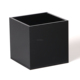 matt black plexiglass storage case frosted acrylic square packaging box