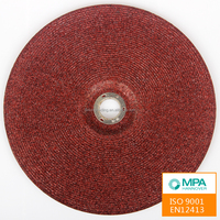Abrasive Cutting Silicone Oxide Grinding Wheel With EN12413