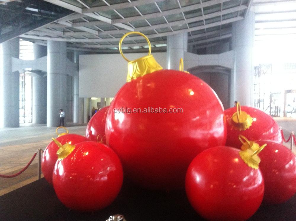 2014 giant outdoor christmas ball christmas decoration for Big outdoor christmas balls