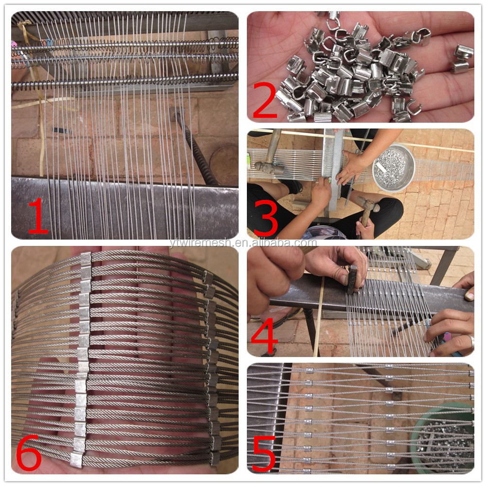 Stainless steel flexible rope mesh cable mesh used for garden stainless steel flexible rope mesh cable mesh used for garden fence baanklon Gallery
