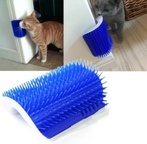 Wall corner stick pet brush massage for pets grooming comb best price