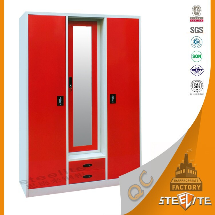 space saving furniture full height lockable cheap glossy latest steel almirah designs in bedroom with mirror cheap space saving furniture